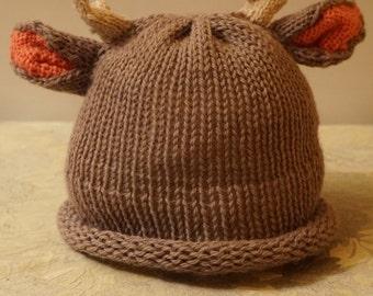 Reindeer Beanie