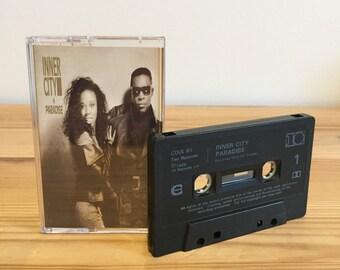Inner City - Paradise - Tape Cassette - 90s - Soul - Dance - House