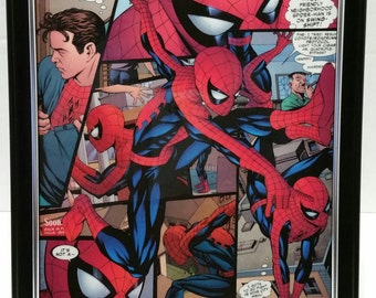"Spider-Man 8x10"" Comic Collage Portrait"