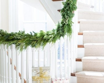 California Greens Garland | Garland | Christmas Garland | Christmas Decorations | Fresh Garland | Holiday Garland | Garland Christmas