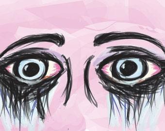teary-eyed printout