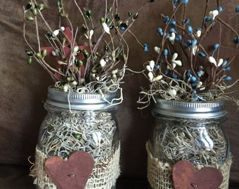 Pip berry jars