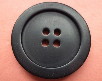 7 buttons 26mm black (1458) button coat buttons jacket buttons