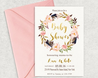 baby shower invitation  etsy, Baby shower
