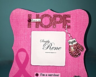 Breast Cancer Survivor Hope Frame