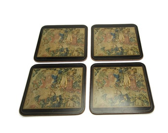Vintage Pimpernel Coasters - Set of 4