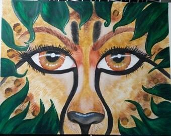 Animalistic Spirit - Art Print
