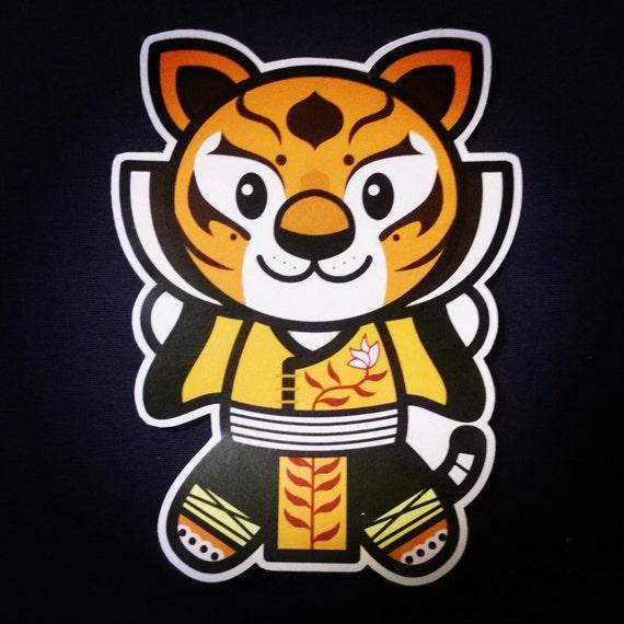 Kung Fu Panda Tigress Sticker