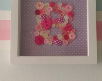 Letter Button Frame