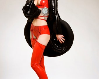 ARADIA Latex Rubber Inflatable coat