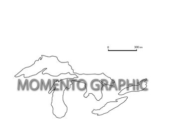 5 Great Lakes Clip Art