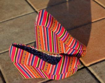 Pink Wedge Heels Manta Inca (Size 9 Women)