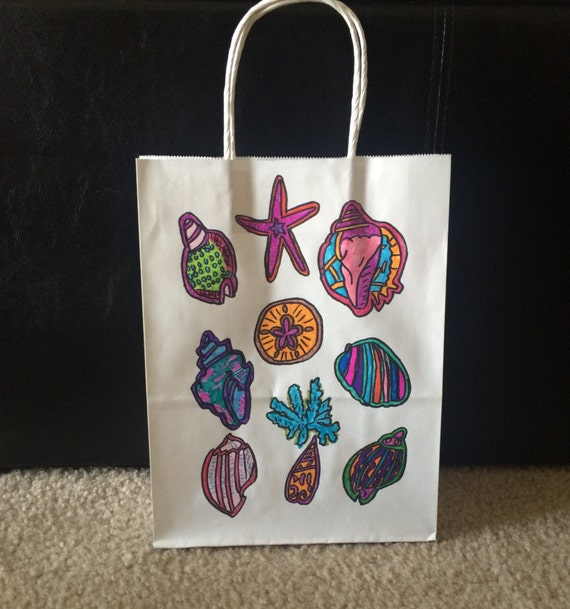 Gifts For Guests Beach Wedding: Items Similar To Gift Bags For Wedding Guests, BEACH