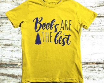 Kids & Toddlers Books Are the Best Fine Jersey T-Shirt by American Apparel