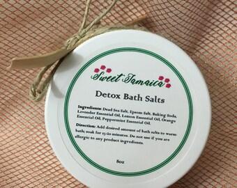 Sweet Jamaica Detox Bath Salts
