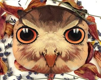 Owl Zipper Pouch