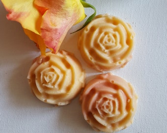 Guest soaps, rose, handmade, 5th. Guest Soaps, 5 pcs.