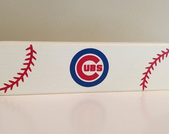 Chicago Cubs Wooden Signs