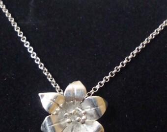 Silver blossom set
