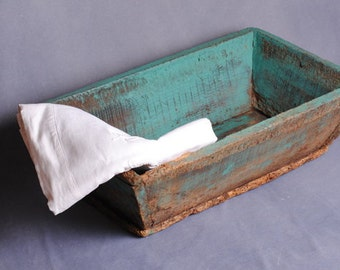 Caisse antique/shabby chic Fund/Fund provision