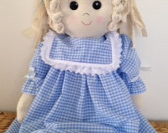 Handmade Rag doll (Large)