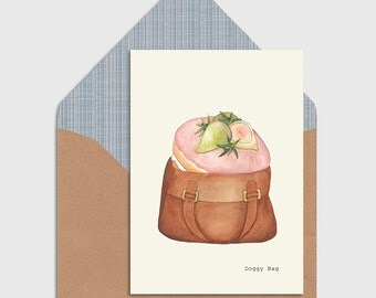 Doggy Bag Greeting Card