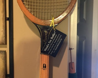 Wooden You Rather is my vintage wooden tennis racquet re-purposing hobby!