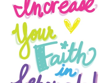 Adult - Increase Your Faith in Jehovah! Circuit Assembly of Jehovah's Witnesses - 17 pages