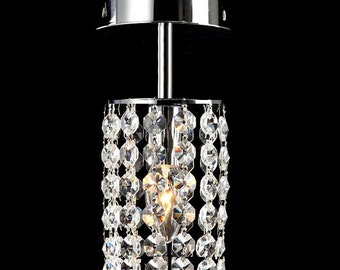 Modern Crystal Chandelier Lighting Fixture with K9 Crystal
