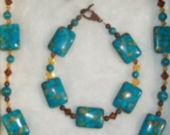 Mosaic Turquoise Set