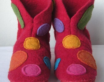 Womens house slippers of booties slippers push bunt barfusss child slippers slippers