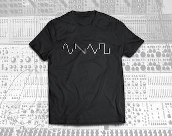 Sine, Sawtooth, Triangle, Square Tee Shirt