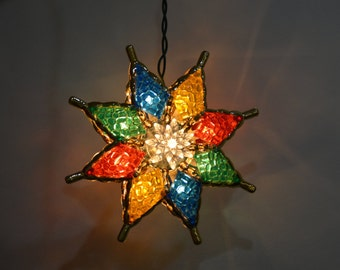 Mosaic Star Lantern