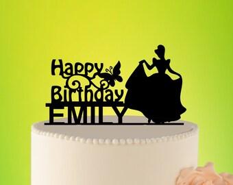 DISNEY Birthday Cake Topper, cake topper Disney, Cake Topper princess, cake topper DISNEY, cake Topper birthday, topper Cinderella L2-01-018