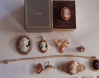 Vintage Cameo Collection