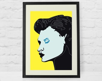 The Woman's Face Wall Art for Home Decor, Woman's  Face Print, Woman's Face Printable, Wall Art Print