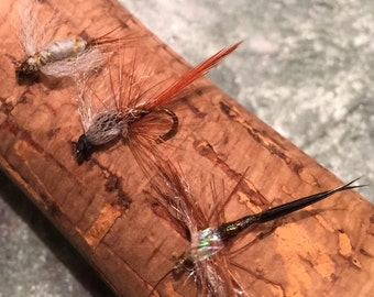 Fly fishing-Variety (3) pack Mayfly Nymphs