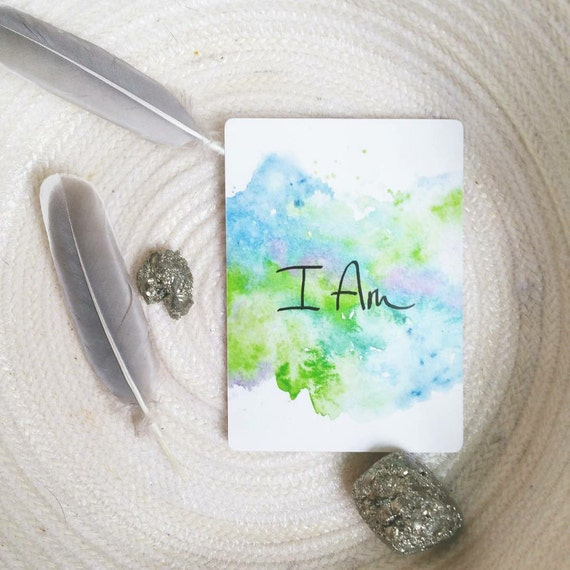 I Am: Power Deck (110 Oracle Card Deck)