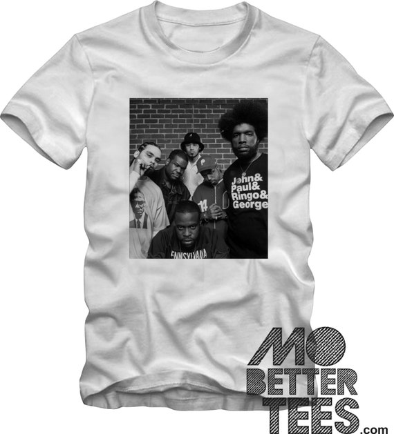 The Roots T-Shirt Black Thought, Quest Love, Graphic Tee