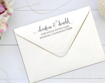 Personalized Custom Self Inking Return Address Stamp