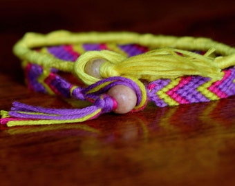 Carnival set of two friendship bracelets
