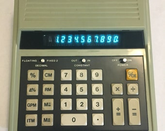 Radio Shack Retro Desktop Calculator (1978) [Model No. EC-2001]
