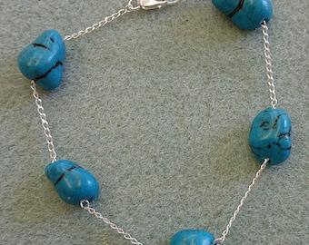 Sleeping Beauty Turquoise Bracelet,