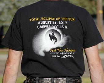 Official - Casper, WY U.S.A. 2017 Solar Eclipse T-Shirt