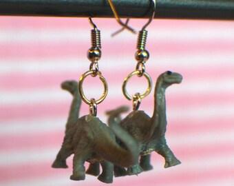 Barosaurus Dinosaur Earrings