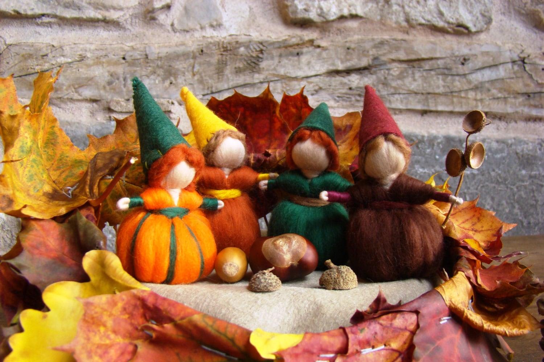 Autumn Gnomes By Jade Shen Waldorf Gnome Oak Children
