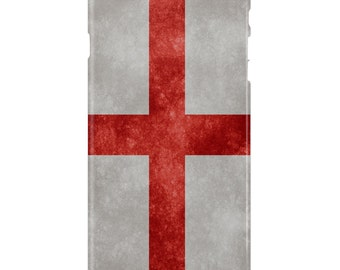 St George's Cross Full Wrap Phone Case For iPhone and Samsung