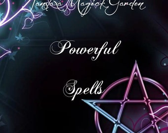 BOS  Powerful Spells 71 page PDF by Janslaxa