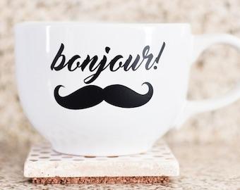 Bonjour! Coffee Mug