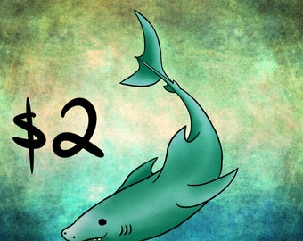 Shark STICKER/MAGNET